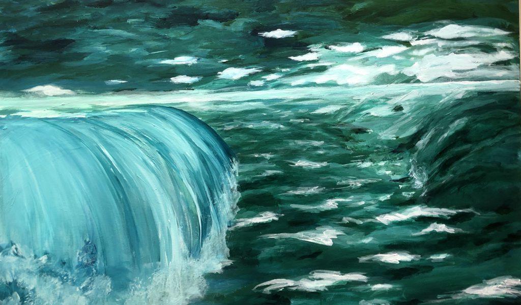 Antje Liebscher | Wasserfall